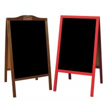 Promotional A-boards, easels, boards, menu folders and many other