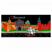 Metallised Panorama Magnet - Illustration 3
